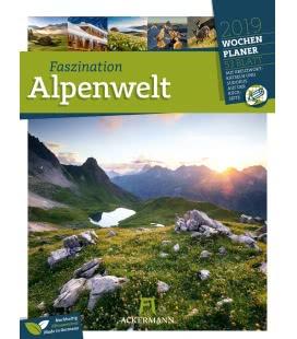 Wall calendar Faszination Alpenwelt – Wochenplaner 2019