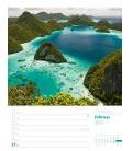 Nástěnný kalendář Sny o cestování - týdenní plánovač / Reiseträume, rund um die Welt – Wo