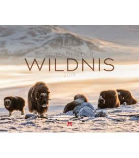 Nástěnný kalendář Divocí nomádi / Nomaden der Wildnis 2019