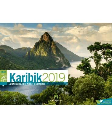 Wall calendar Karibik ReiseLust 2019