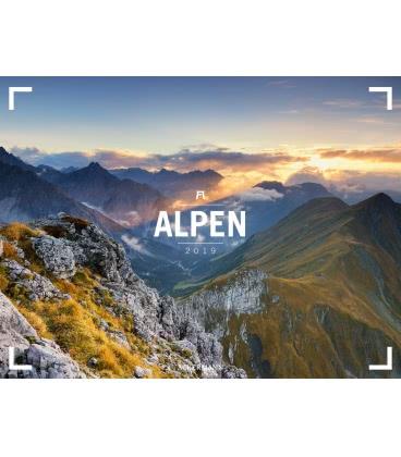 Nástěnný kalendář Alpy / Alpen – Ackermann Gallery 2019