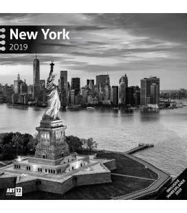 Nástěnný kalendář New York / New York 2019