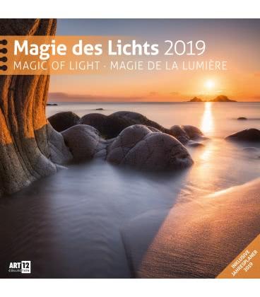 Nástěnný kalendář Kouzlo světla / Magie des Lichts 2019