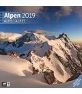 Wall calendar Alpen 2019