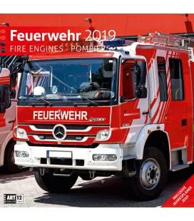 Nástěnný kalendář Hasiči / Feuerwehr 2019