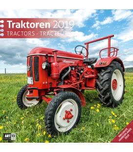 Nástěnný kalendář Traktory / Traktoren 2019