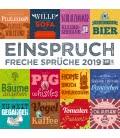 Nástěnný kalendář Námitky / Einspruch 2019