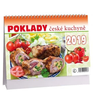 Table calendar Poklady české kuchyně 2019