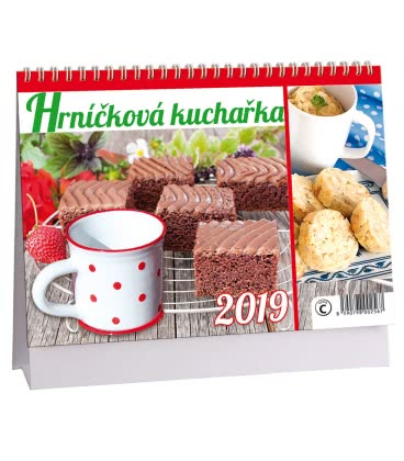 Stolní kalendář Hrníčková kuchařka 2019