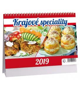 Stolní kalendář Krajové speciality 2019
