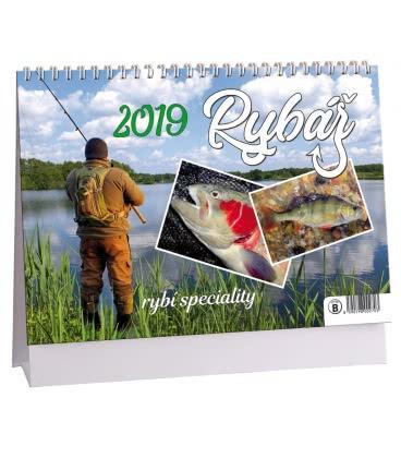 Table calendar Rybář - rybí speciality 2019