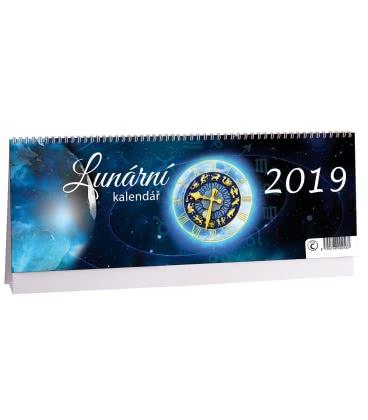 Table calendar Lunární kalendář 2019