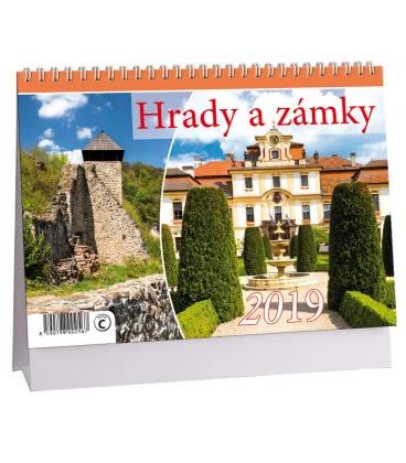 Table calendar Hrady a zámky 2019