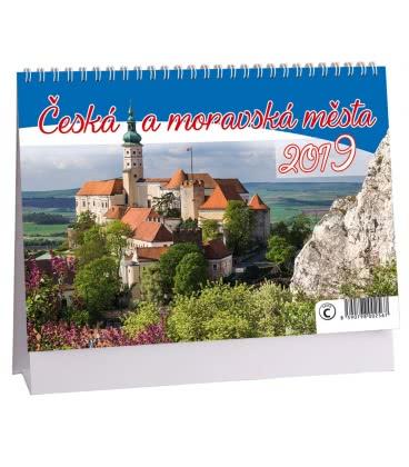 Stolní kalendář Česká a moravská města 2019