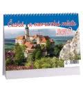 Table calendar Česká a moravská města 2019