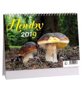 Table calendar Houby 2019