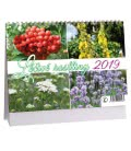 Table calendar Léčivé rostliny 2019