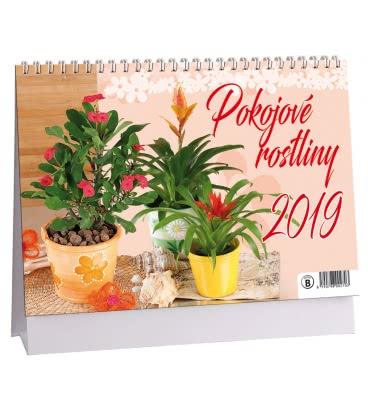 Stolní kalendář Pokojové rostliny 2019