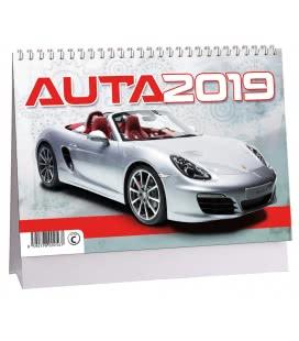 Table calendar Auta 2019