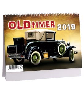 Table calendar Oldtimer - Veteráni 2019