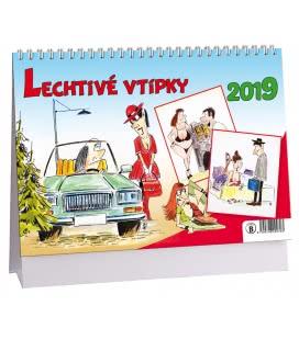 Stolní kalendář Lechtivé vtípky 2019