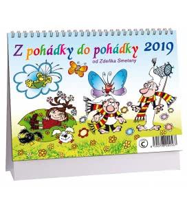 Stolní kalendář Z pohádky do pohádky 2019