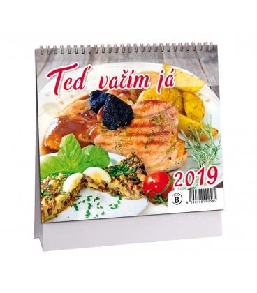 Stolní kalendář Teď vařím já 2019