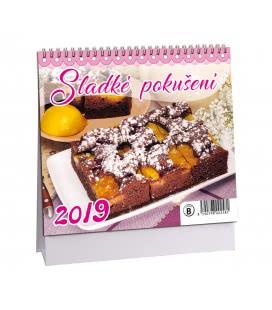 Stolní kalendář Sladké pokušení 2019