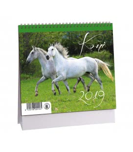 Tischkalender Koně 2019