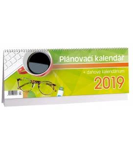 Stolní kalendář Plánovací daňový 1 2019