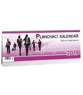 Stolní kalendář Plánovací daňový 2 2019