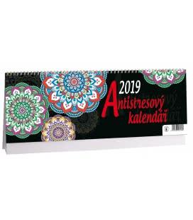 Stolní kalendář Antistresový 2019