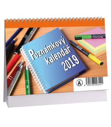 Table calendar Poznámkový MIKRO 2019