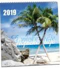 Wall calendar Tropické ráje 2019