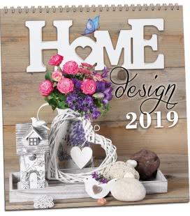 Nástěnný kalendář Home design 2019