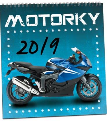 Wall calendar Motorky 2019