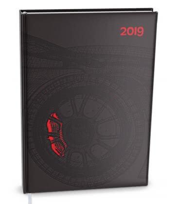 Diář denní A5 - David - lamino Auto 2019