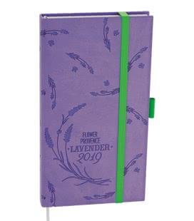 Daily Diary pocket - Filip - vivella extra fialová - Levandule 2019