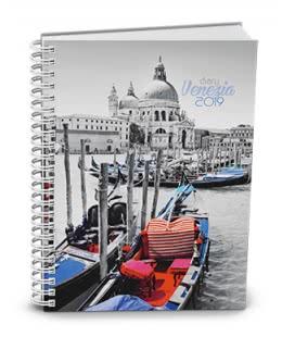 Weekly Pocket Diary - Egon - twin wire - lamino - Venezia 2019