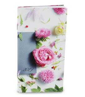 Monthly pocket Diary - Halina - Květiny 2019