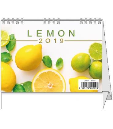Stolní kalendář Lemon - mini 2019