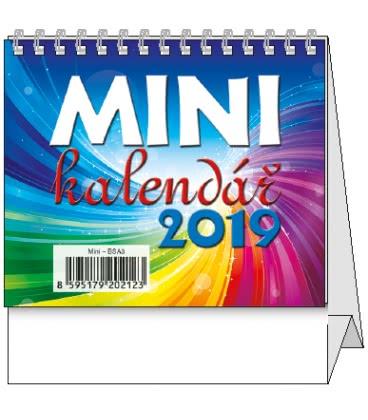 Stolní kalendář Mini 2019