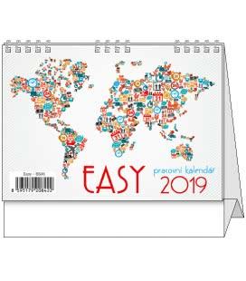 Table calendar Easy 2019