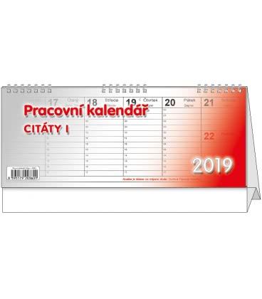Stolní kalendář Citáty I. 2019