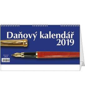Table calendar Daňový kalendář 2019