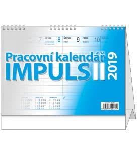 Table calendar Impuls II. 2019