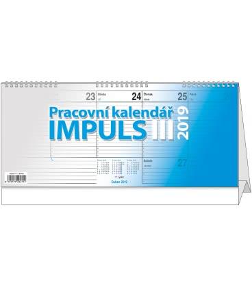 Table calendar Impuls III. 2019