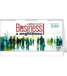 Stolní kalendář Business I. s angličtinou 2019