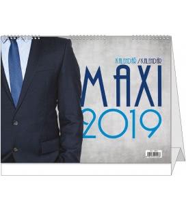 Table calendar Maxi kalendář 2019