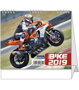 Stolní kalendář IDEÁL - Motorbike 2019